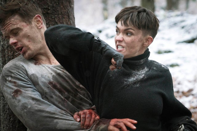 SAS: Red Notice sees suspended SAS soldier Tom (Sam Heughan) come up against hijack leader Grace, who is played by Ruby Rose.