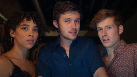 Alexandra Shipp, Nick Robinson, & Daniel David Stewart in Silk Road