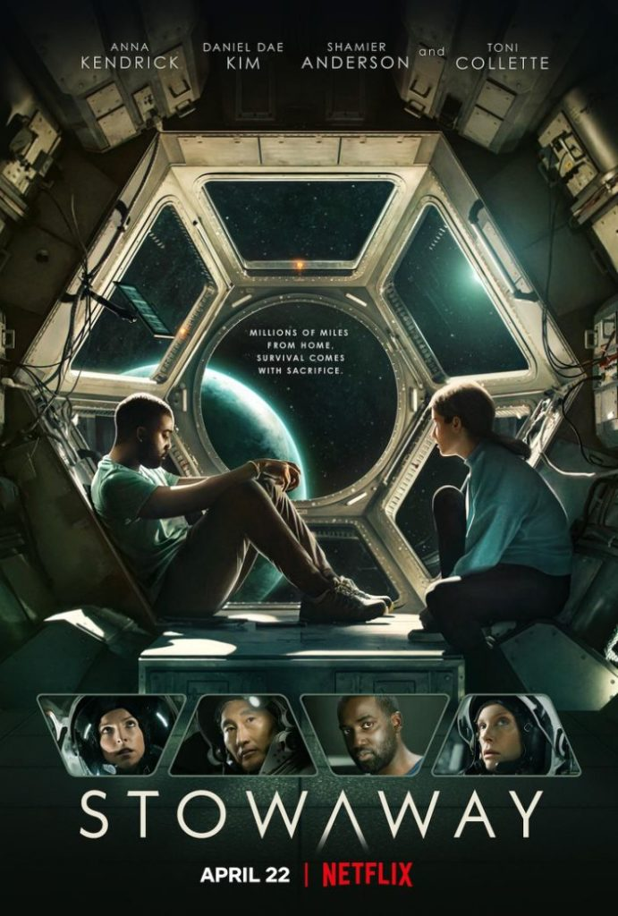 Netflix poster for Stowaway