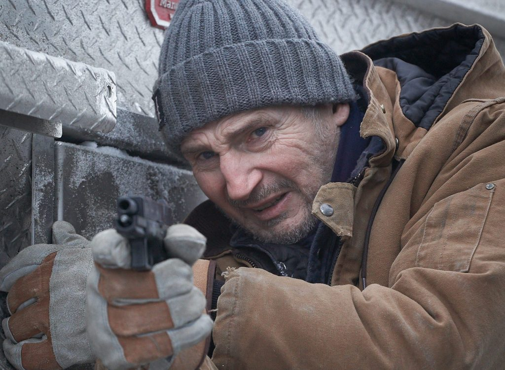 Liam Neeson in The Ice Road