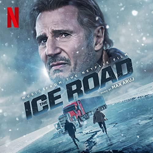 Liam Neeson on The Ice Road Soundtrack Album Cover